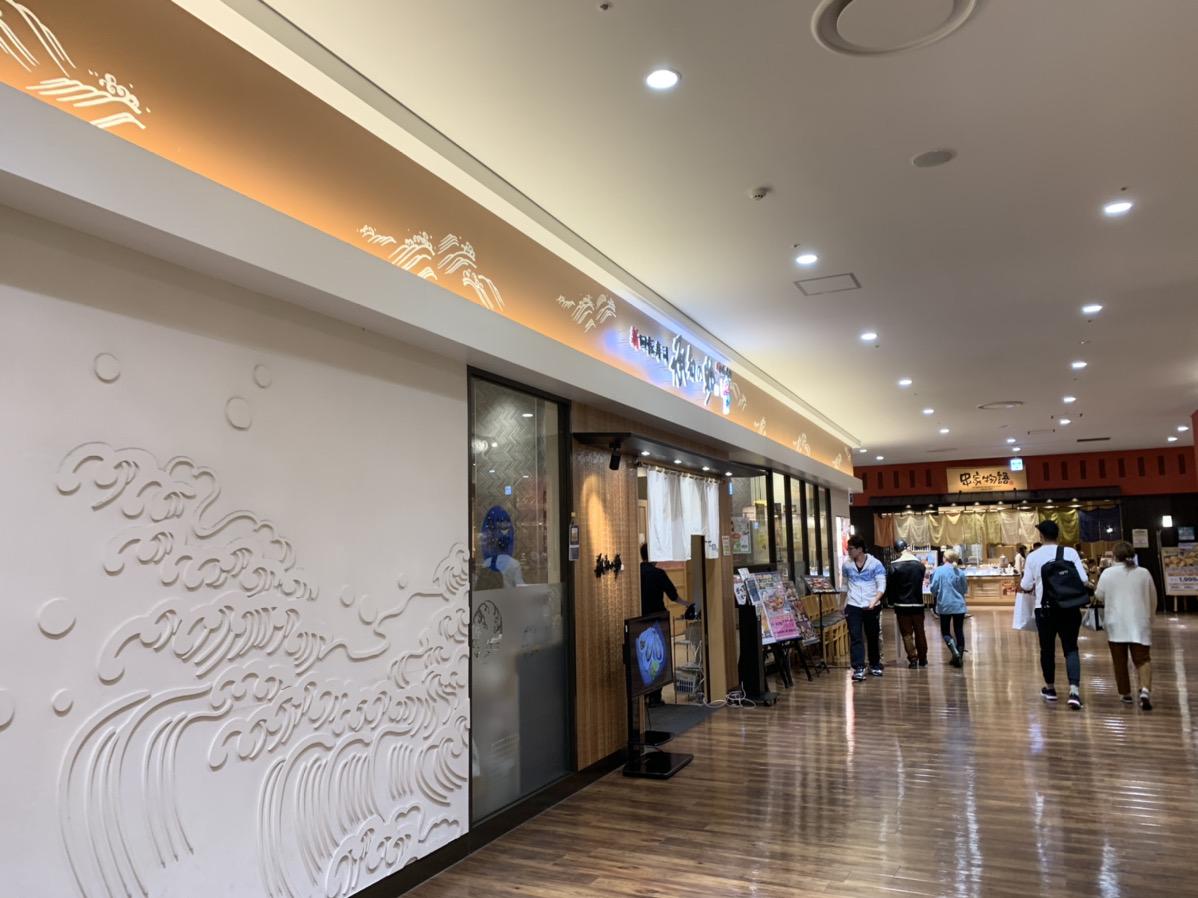 ららぽーと富士見の承知の助が美味しい!新回転寿司とトラベラーズノート♪by がってん寿司